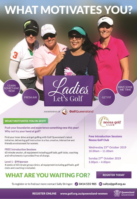 Ladies, Let's Golf!